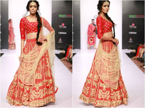 red-gold-lehenga