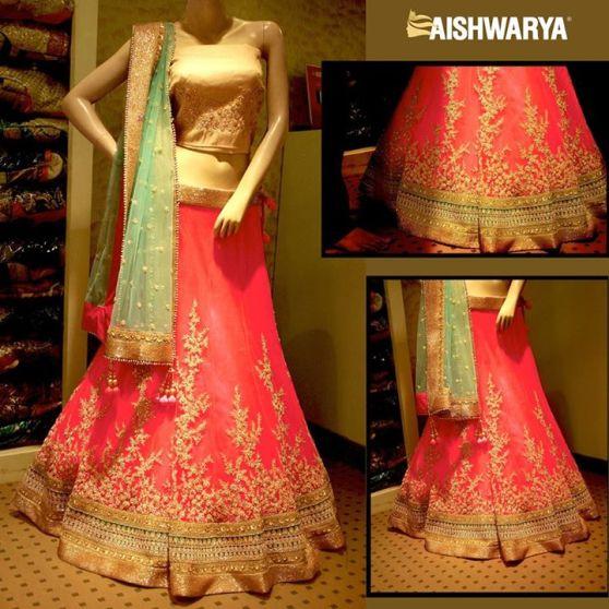 Engagement lehenga 2015 Aishwarya
