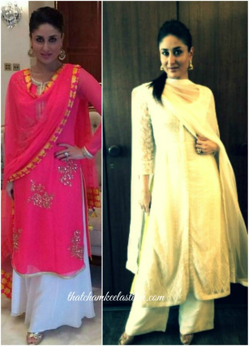 Kareena Kapoor Palazzo Suit Indian