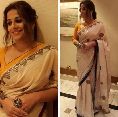 Vidya Balan Saree Ritu Kumar