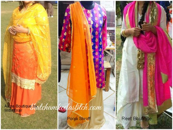 Palazzo Suits Indian Colourful