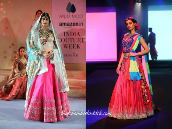 A-Pink-Lehengas