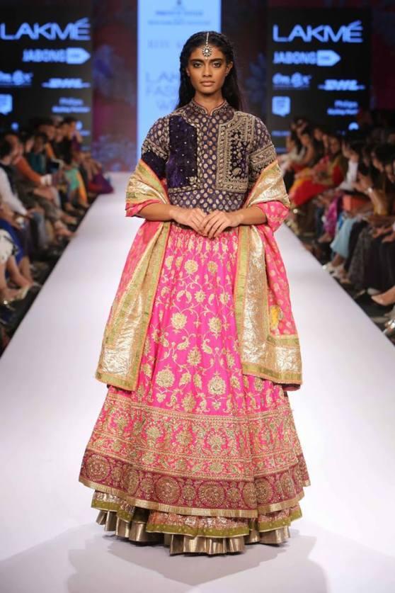 Traditional-Pink-Bridal-Lehenga-RituKumar
